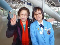 冬期YCE来日学生Tan Ying Hui さん(マレーシア)